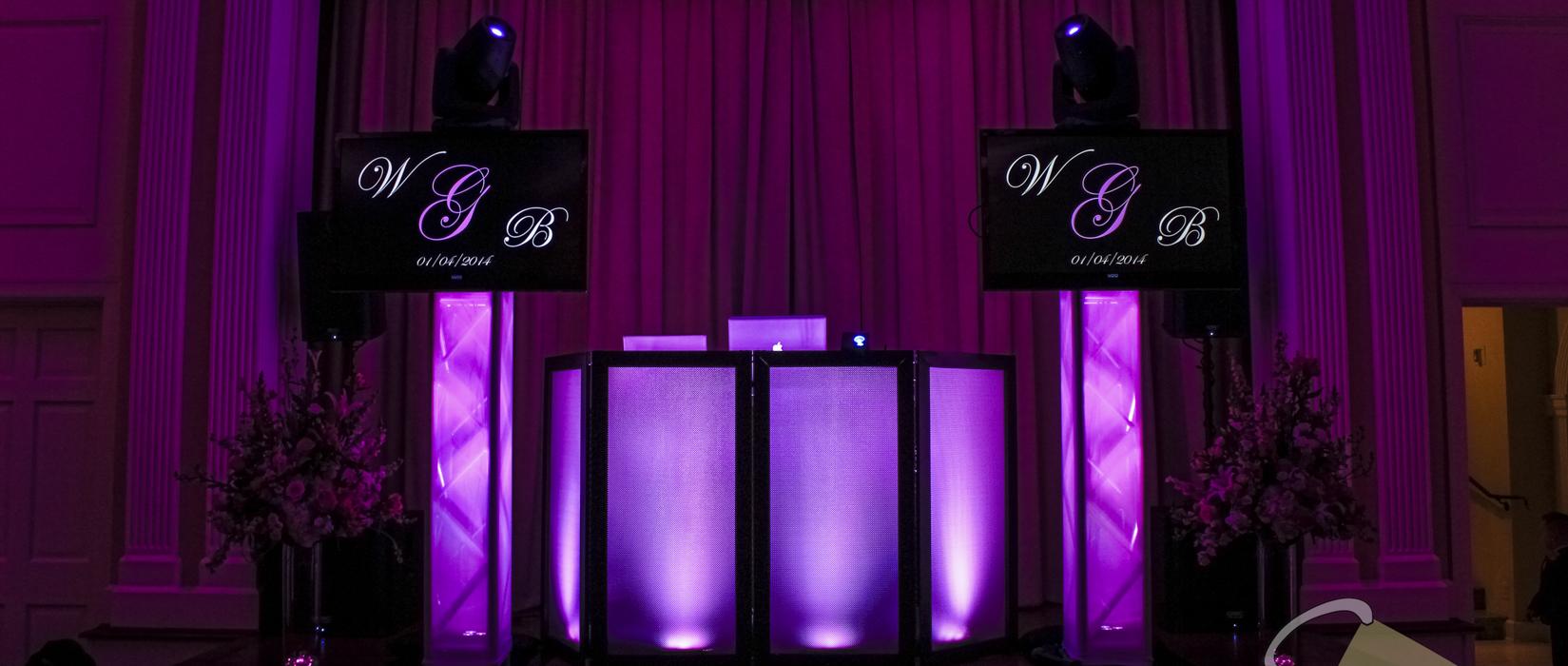 Intelligent lighting dallas wedding dj steward 39 s for Dallas wedding dj